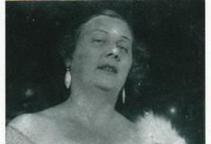 Вера Штейп после концерта. 1920-е годы.